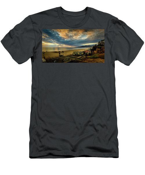 Fall Clouds Over The Bay Men's T-Shirt (Athletic Fit)