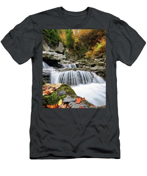 Fall Color Bash Men's T-Shirt (Athletic Fit)