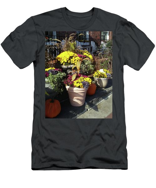 Men's T-Shirt (Athletic Fit) featuring the photograph Fall Colorful Gifts  by Irina Sztukowski