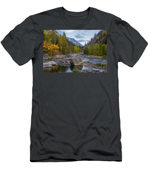 Fall Colors In The Canyon Men's T-Shirt (Athletic Fit)