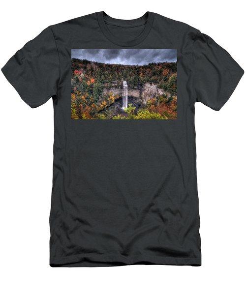 Fall Creek Falls Men's T-Shirt (Athletic Fit)
