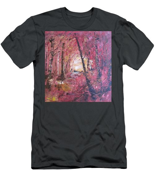 Fall Fire Men's T-Shirt (Athletic Fit)