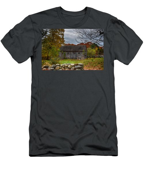 Fall In New England Men's T-Shirt (Slim Fit) by Tricia Marchlik