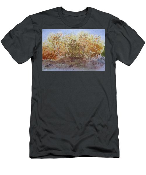 Fall In The Tejas High Country Men's T-Shirt (Athletic Fit)