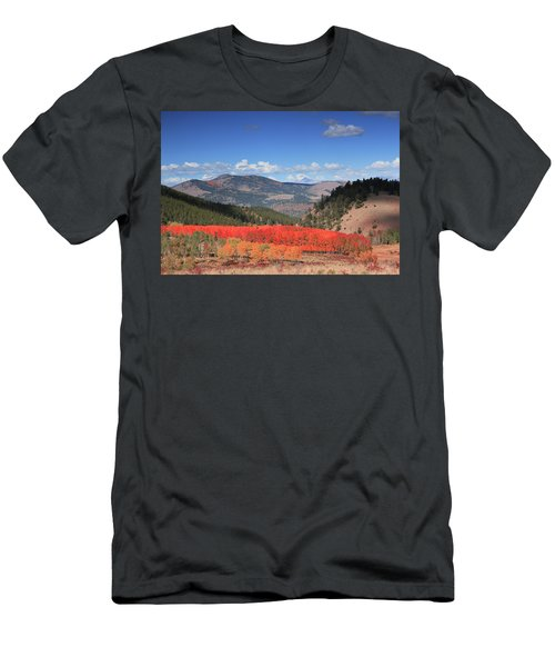 Fall In  Ute Trail  Men's T-Shirt (Athletic Fit)