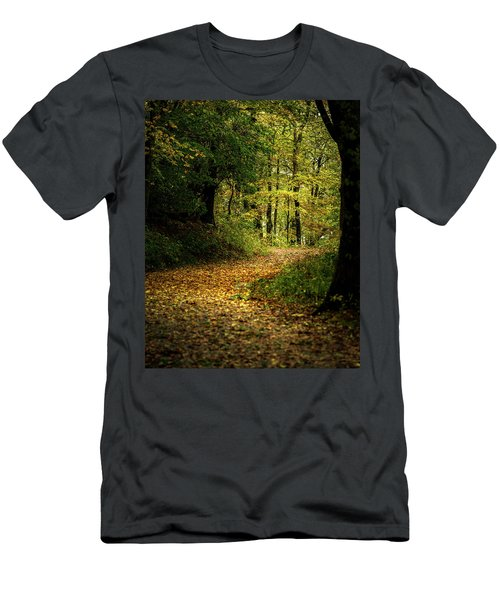 Fall Is Just Around The Corner Men's T-Shirt (Athletic Fit)