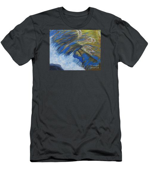 Fall Reflections II				 Men's T-Shirt (Slim Fit) by Anne Marie Brown