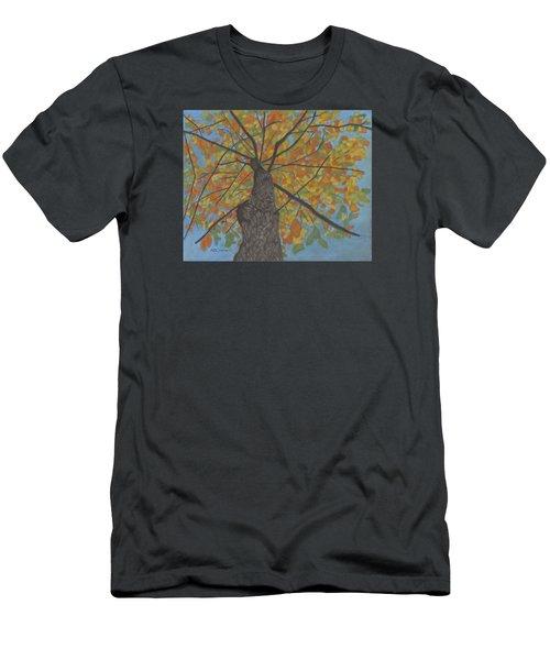 Fall Up Men's T-Shirt (Slim Fit) by Arlene Crafton