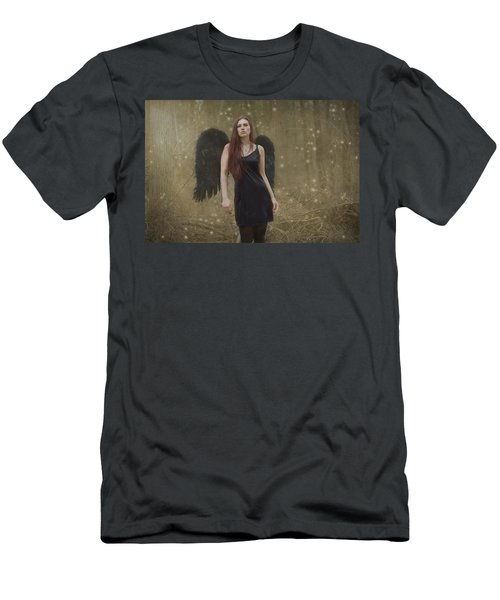 Men's T-Shirt (Slim Fit) featuring the photograph Fallen Angel by Brian Hughes