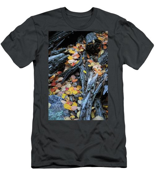 Men's T-Shirt (Athletic Fit) featuring the photograph Fallen by David Chandler