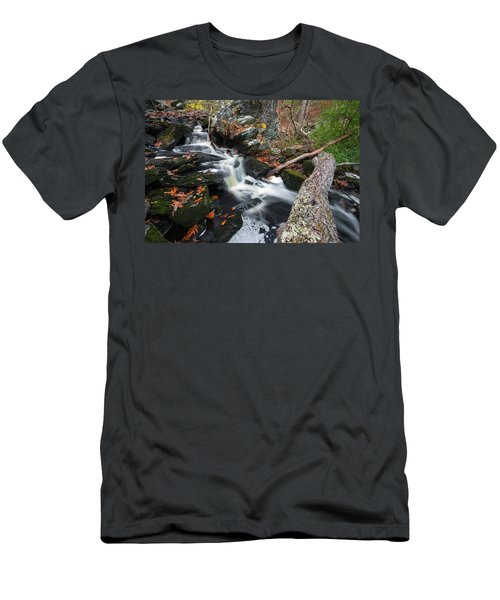 Fallen In Danforth Falls Men's T-Shirt (Athletic Fit)