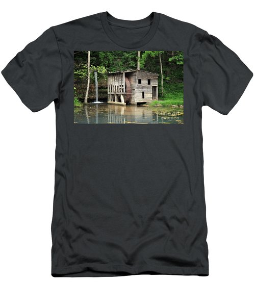 Falling Spring Mill 3 Men's T-Shirt (Athletic Fit)