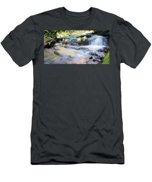Falling Water Men's T-Shirt (Athletic Fit)