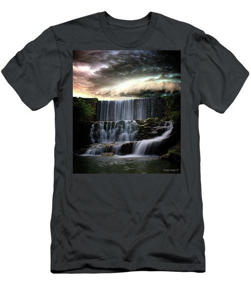 Falls At Mirror Lake Men's T-Shirt (Athletic Fit)