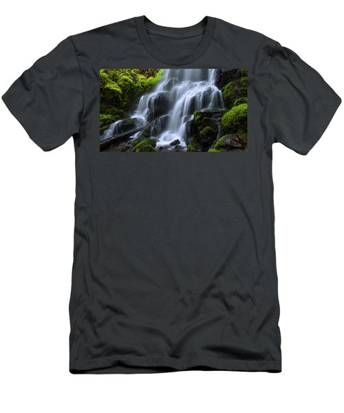 Men's T-Shirt (Slim Fit) featuring the photograph Falls by Chad Dutson