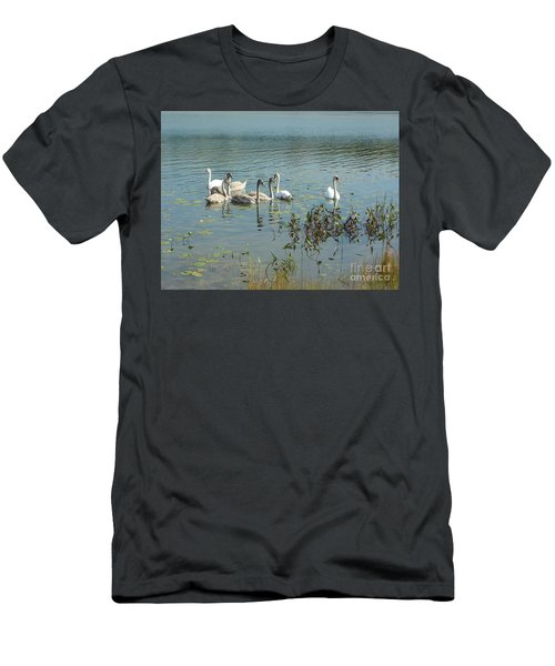 Family Of Swans Men's T-Shirt (Athletic Fit)