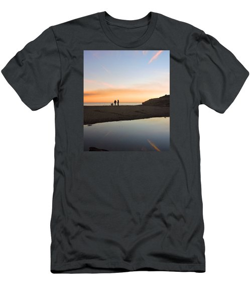 Family Sunset Men's T-Shirt (Athletic Fit)