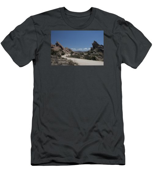 Famous Rocks Men's T-Shirt (Slim Fit) by Ivete Basso Photography