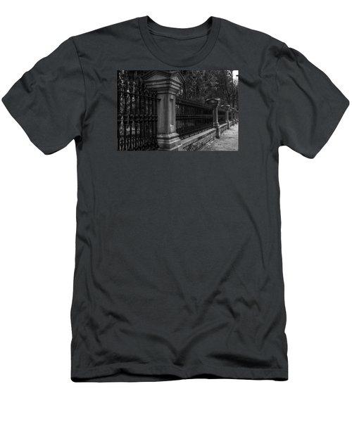 Fancy Fence Men's T-Shirt (Athletic Fit)