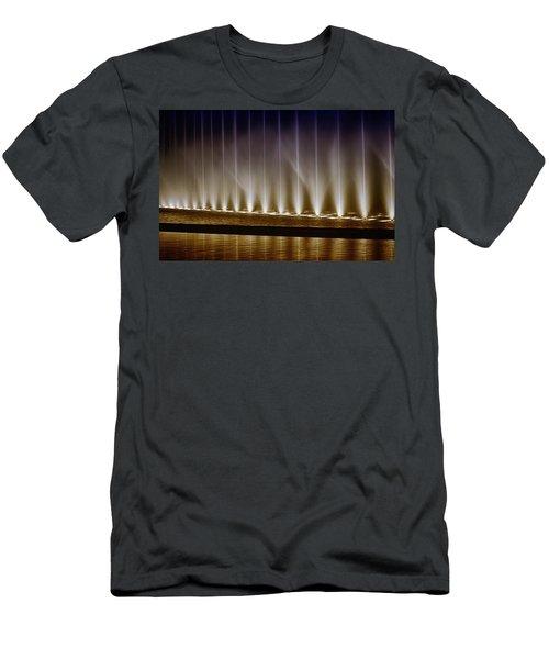 Fanfare Fountains Men's T-Shirt (Athletic Fit)