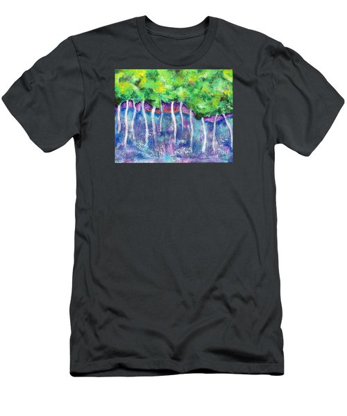 Fantasy Forest Men's T-Shirt (Athletic Fit)