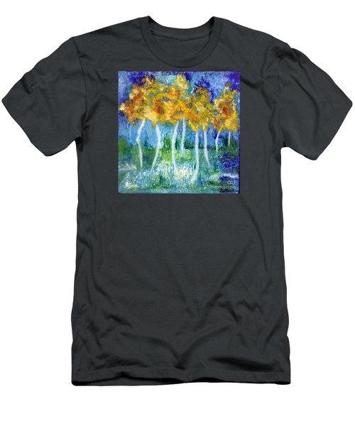 Fantasy Glade Men's T-Shirt (Slim Fit) by Elizabeth Fontaine-Barr
