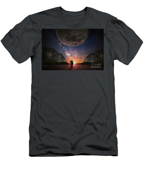 Fantasy Hike Men's T-Shirt (Athletic Fit)