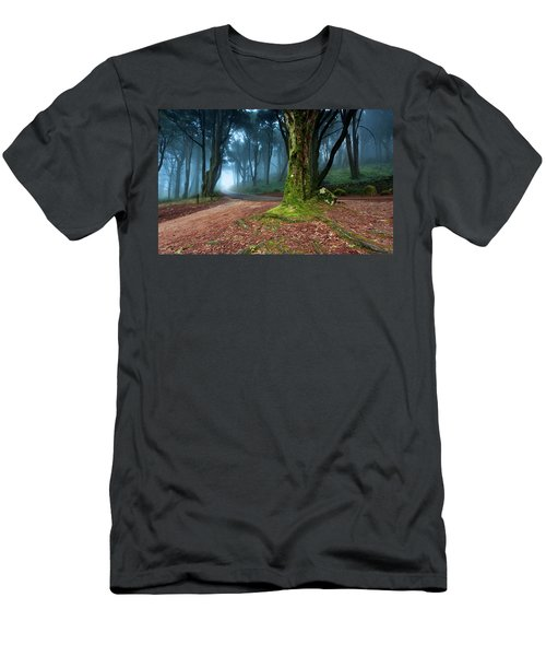 Men's T-Shirt (Slim Fit) featuring the photograph Fantasy by Jorge Maia