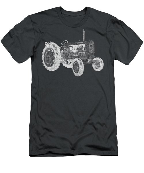 Farm Tractor Tee Men's T-Shirt (Athletic Fit)