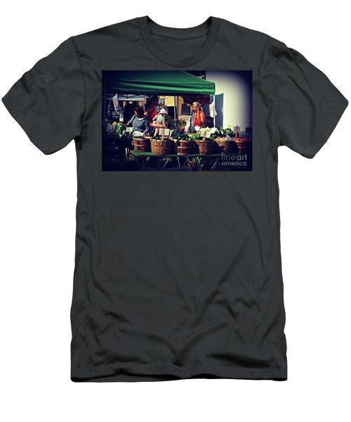 Farmers Market Produce  Men's T-Shirt (Athletic Fit)
