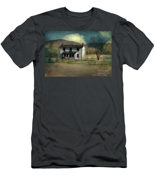 Farmhouse Men's T-Shirt (Slim Fit) by Kathy Russell