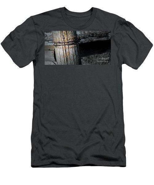 Farming Cross Men's T-Shirt (Athletic Fit)