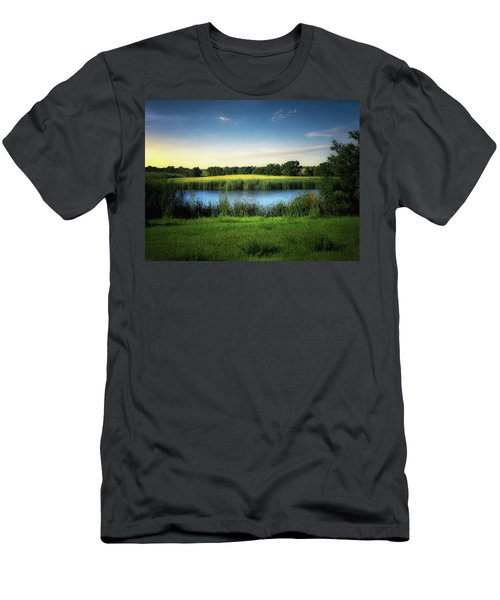 Farmland Waters Men's T-Shirt (Athletic Fit)