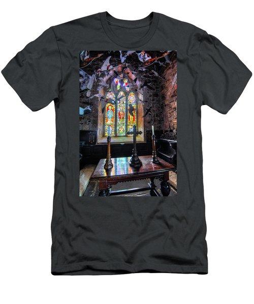 Farne Island Church Men's T-Shirt (Athletic Fit)
