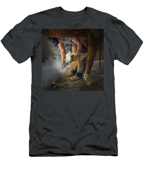 Farrier Visit - 365-46 Men's T-Shirt (Athletic Fit)