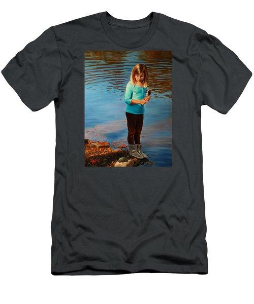 Fast Friends Men's T-Shirt (Slim Fit) by Glenn Beasley