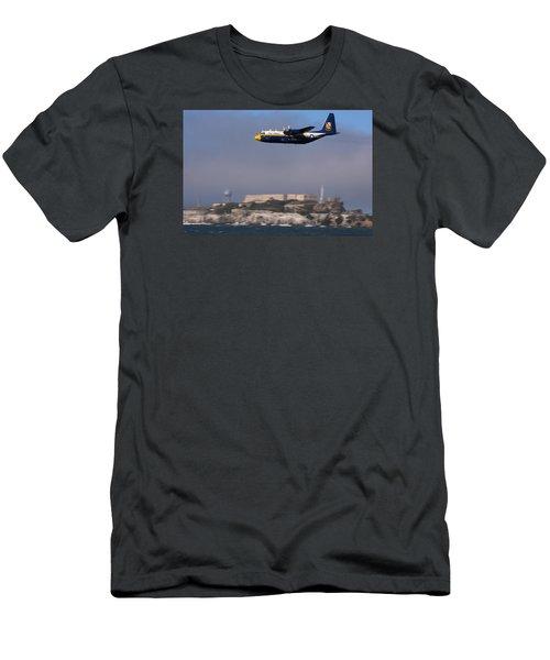 Fat Albert Buzzes The San Francisco Bay Men's T-Shirt (Athletic Fit)