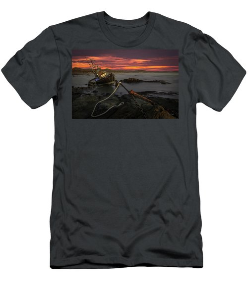 Fate Of The Point Estero Men's T-Shirt (Athletic Fit)