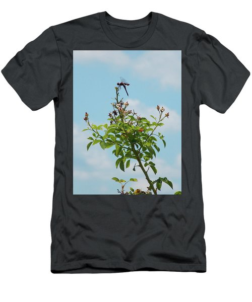 Fathers Day Visit Men's T-Shirt (Athletic Fit)