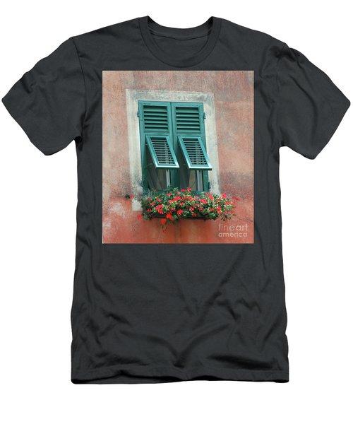 Faux  Painting Window  Men's T-Shirt (Athletic Fit)
