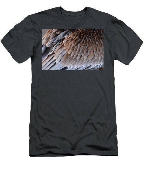 Feathers Cascade Men's T-Shirt (Athletic Fit)