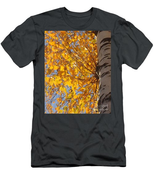Feathery Fan Of Leaves Men's T-Shirt (Athletic Fit)