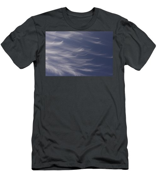 Men's T-Shirt (Slim Fit) featuring the photograph Feathery Sky by Shari Jardina
