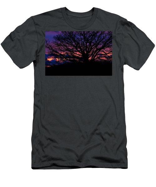 February Sunset Men's T-Shirt (Athletic Fit)
