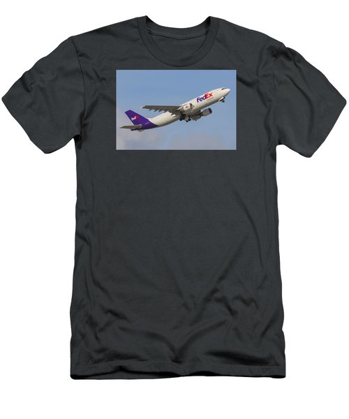 Fedex Airplane Men's T-Shirt (Athletic Fit)