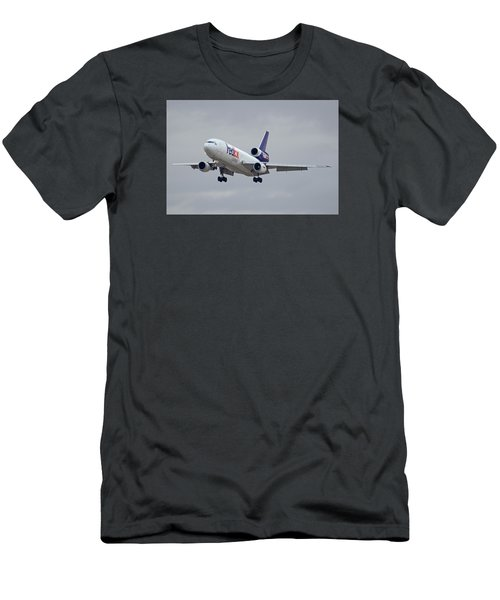 Fedex Express Mcdonnell Douglas Md-10-10f N359fe Phoenix Sky Harbor December 23 2015 Men's T-Shirt (Slim Fit)