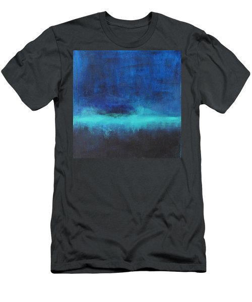 Feeling Blue Men's T-Shirt (Slim Fit) by Nicole Nadeau