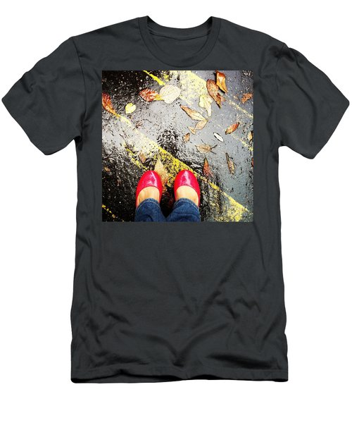 Feet Around The World #29 Men's T-Shirt (Athletic Fit)
