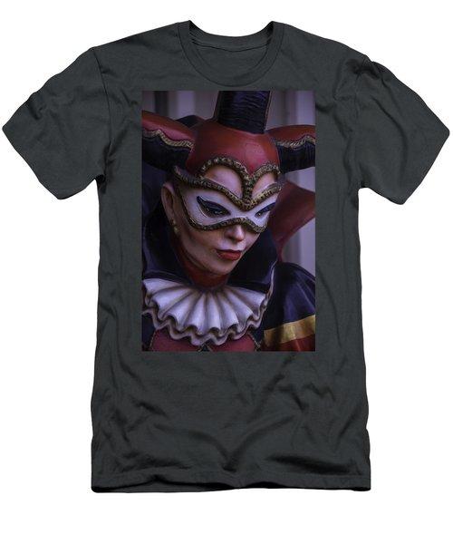Female Jester Men's T-Shirt (Athletic Fit)