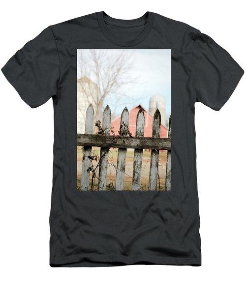 Fenceline Men's T-Shirt (Athletic Fit)